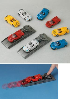 Racing Set with Launchers