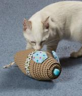 Corrugated Mouse Cat Toy