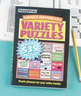 Family Favorites Variety Puzzles