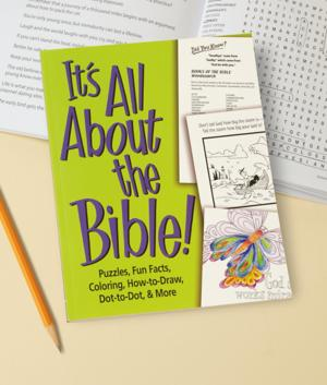 It's All About the Bible! Puzzle Book