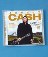 Johnny Cash Gospel Greats CD