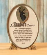 A Hunter's Prayer Plaque