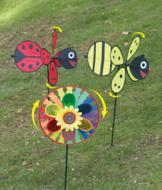 Garden Wind Spinner - Bee