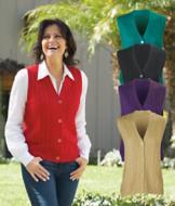 Cable-Knit Sweater Vest - Each
