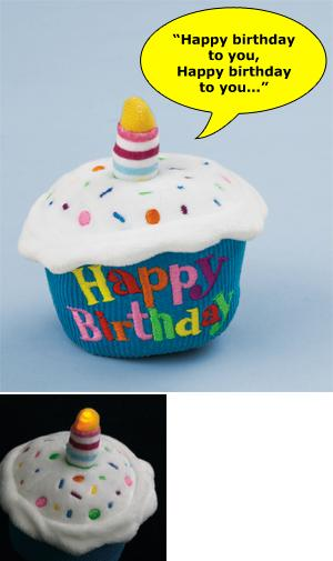 Happy Birthday Musical Cupcake