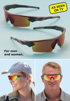 Battle Vision HD Polarized Sunglasses - 2 Pairs
