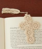 Crochet Cross Bookmarks - Set of 2