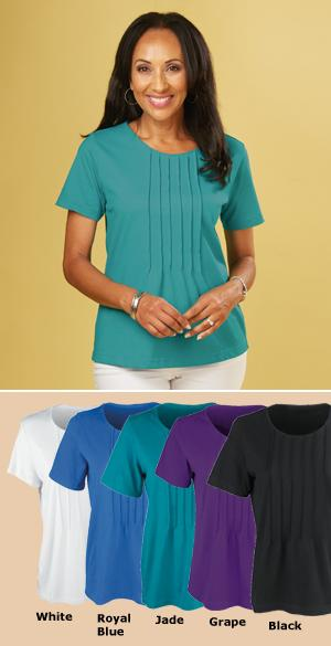 Pleated Cotton Top - Each