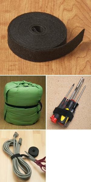 Hook-and-Loop One-Way Fastener - 12' Roll