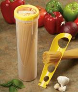 Pasta Keeper with Measurer