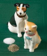 Cat and Dog Salt and Pepper Set