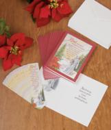 St. Francis Christmas Card Set