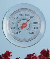 Suction Window Thermometer