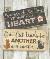 Pet Lover's Sign - Cat