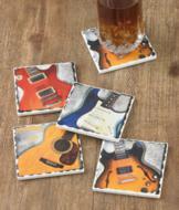Guitar Legends Coasters - Set of 4