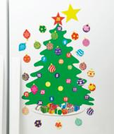 Magnetic Advent Tree