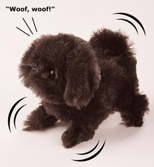 Shih Tzu Sound and Motion Toy