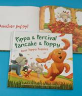Four Peppy Puppies Picture Book
