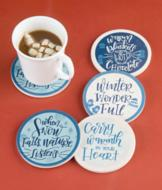 Winter Wonder-Full Coasters - Set of 4