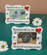 Memorial Pet Photo Frame
