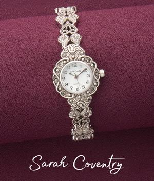 Sarah Coventry Marcasite Watch