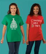Holiday T-Shirt - Merry and Bright
