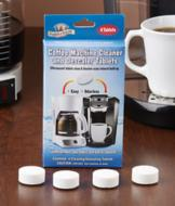 Coffee Machine Cleaning Tablets - Pkg. of 4