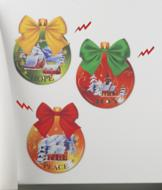 Christmas Magnet Art - Set of 3