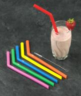 Silicone Straws - Set of 6