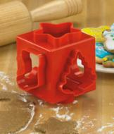 Holiday Cookie-Cutter Cube