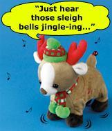 Sleigh Ride Musical Reindeer