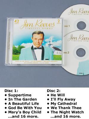 Jim Reeves Timeless Hymns - 2-CD Set