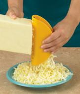 Taco-Shaped Cheese Grater