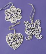 Delicate Words Ornament - Someone Special
