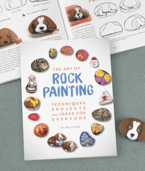 The Art of Rock Painting Book