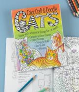 Color, Craft and Doodle Cats Activity Book