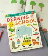 Drawing School Art Book