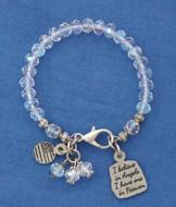 I Believe in Angels Bracelet