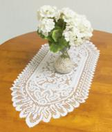 Lace-Look Table Runners - Set of 3