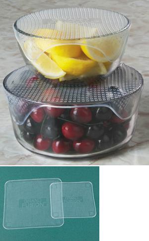 Silicone Food Wraps - Set of 2