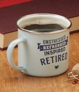 Retired Message Mug