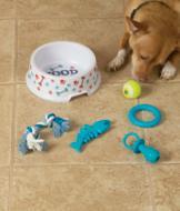 Dog Bowl Gift Set