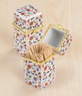 Porcelain Toothpick Holder