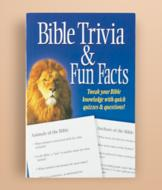 Bible Trivia and Fun Facts Book