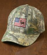 Embroidered Camo Cap