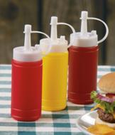 Condiment Dispensers - Set of 3