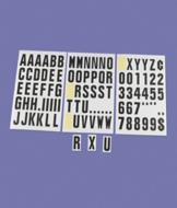 Stick-On Vinyl Lettering - 99-Pc. Set