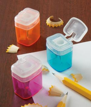 Mini Pencil Sharpeners - Set of 3