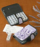 Lavender-Print Pill Organizer