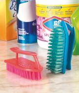 Handled Scrub Brushes - Set of 2